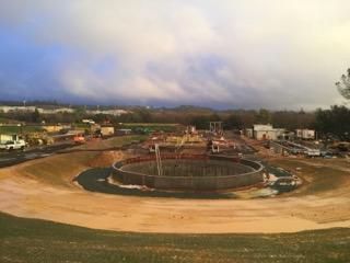 Mule Creek State Prison WWTP Secondary Clarifier 3